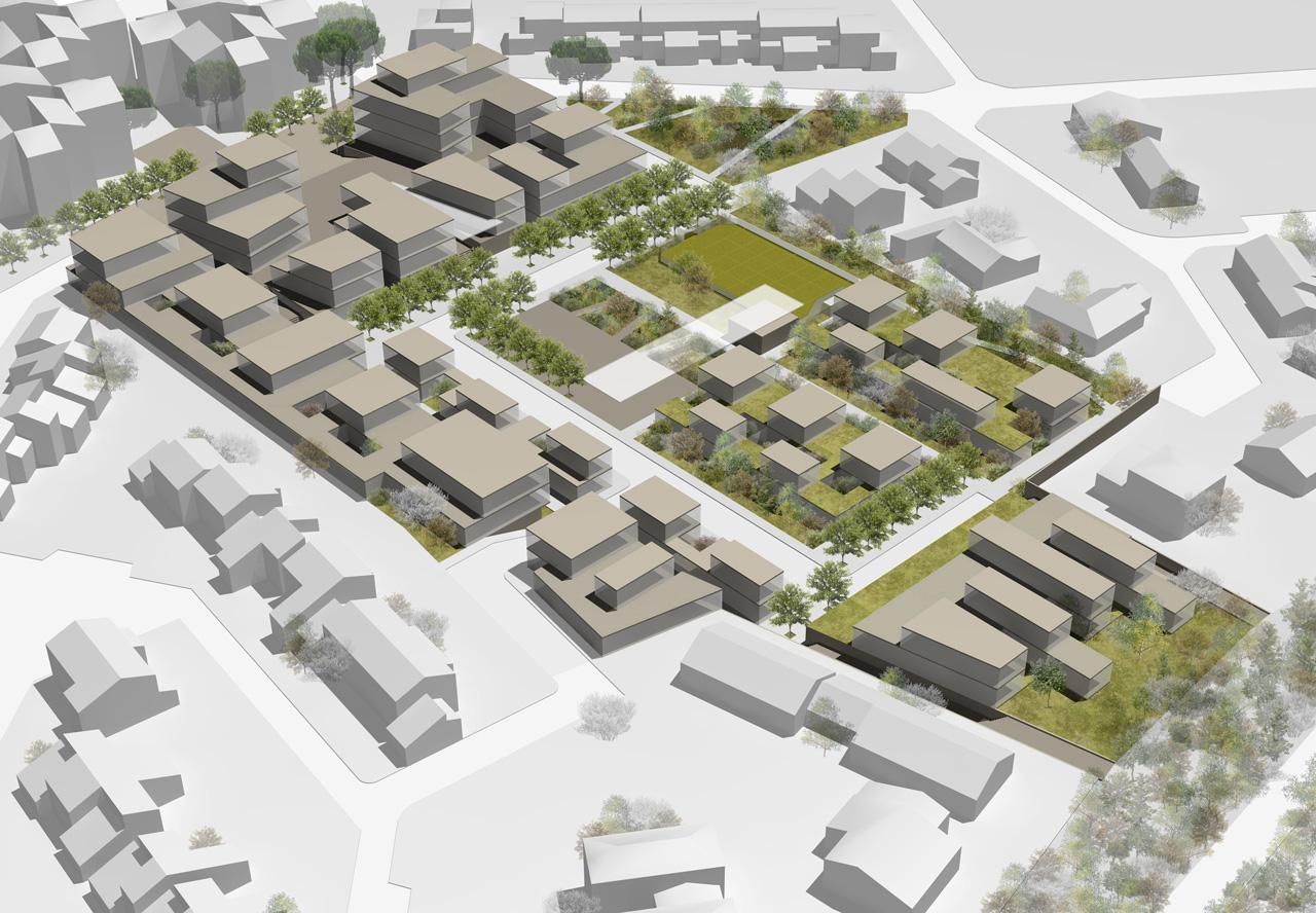 Nouveau quartier lhenry architecture for Vert urbain maison de ville