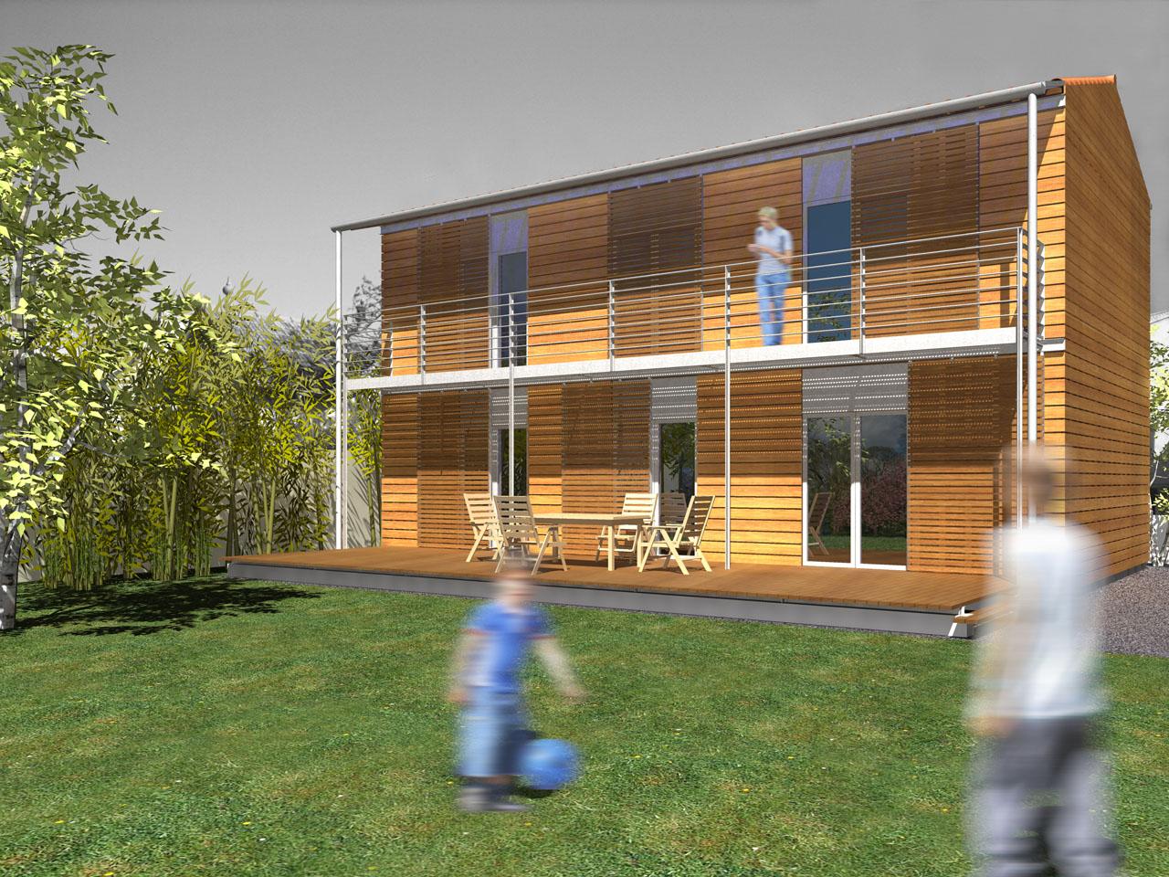 architecte maison nergie positive. Black Bedroom Furniture Sets. Home Design Ideas