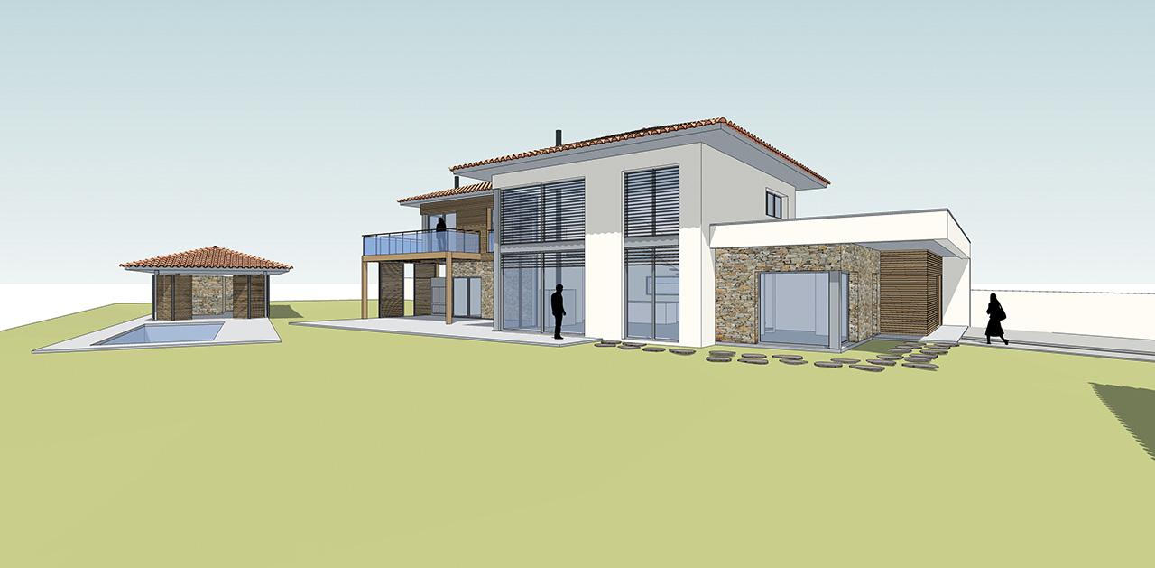 maison p lhenry architecture. Black Bedroom Furniture Sets. Home Design Ideas