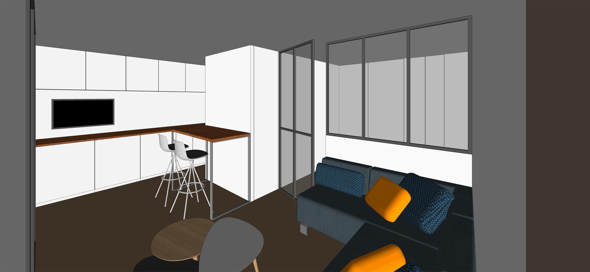 immeuble c lhenry architecture. Black Bedroom Furniture Sets. Home Design Ideas