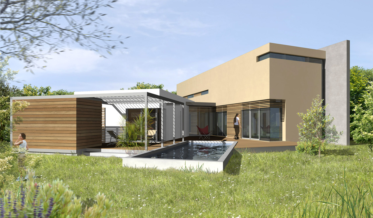 Maison bbc t lhenry architecture for Maison container bois